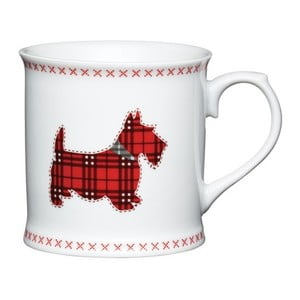 Porcelánový hrnček Traditional Scottie Dog, 400 ml