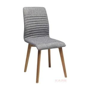 Sivá jedálenská stolička Kare Design Lara