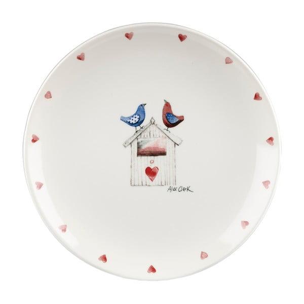 12-dielna sada Churchill China Lovebirds