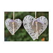 Závesné dekoratívne srdce Boltze Nadja, 20cm