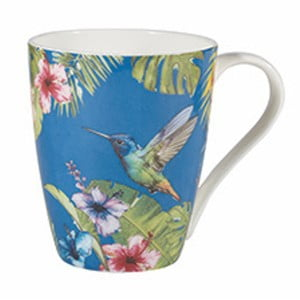 Hrnček z kostného porcelánu Churchill Reignforest Hummingbird, 390 ml