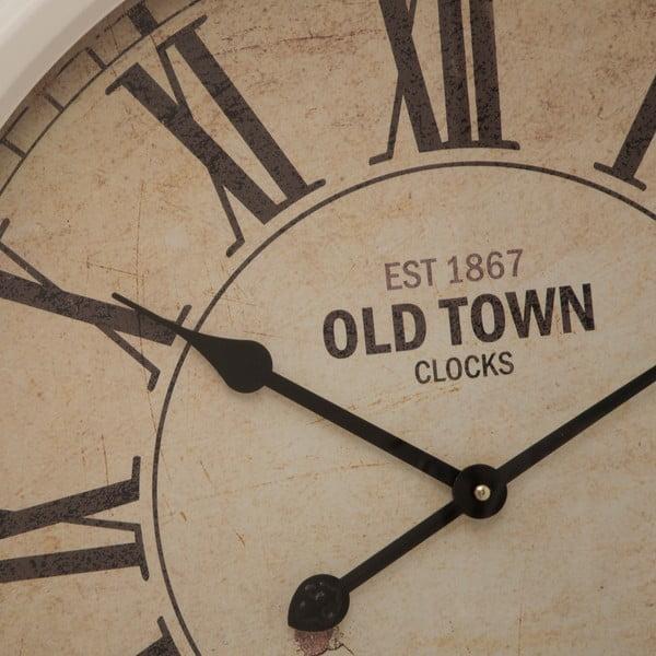 Nástenné hodiny Town, 66 cm