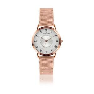 Unisex hodinky s antikoro remienkom v ružovo-zlatej farbe Frederic Graff Rose Grand Combine Rose Gold Mesh