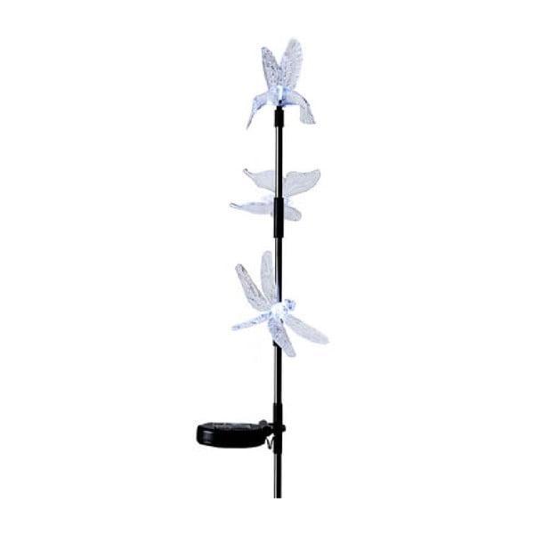 Zapichovacia LED dekorácia na záhradu Hummingbird, 95 cm
