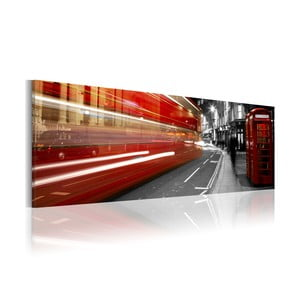 Obraz na plátne Artgeist London Rush Hour, 120x40cm