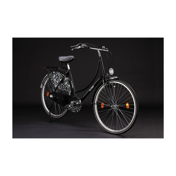"Bicykel Tussaud Bike Black, 28"", výška rámu 54 cm"