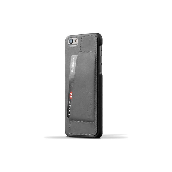 Peňaženkový obal Mujjo na telefón iPhone 6 Gray