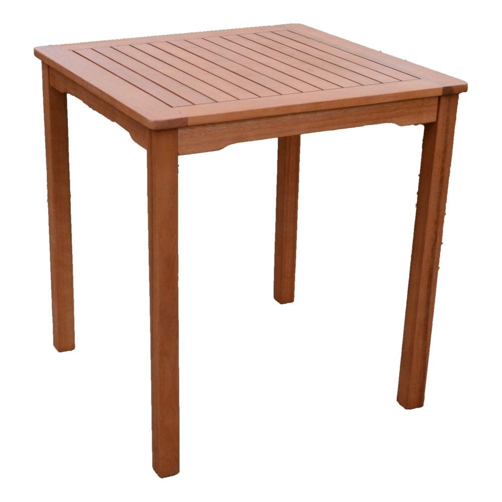 Záhradný stôl z dreva eukalyptu ADDU Pittsburgh, 70 x 70 cm