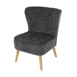 Kreslo Vaasa Lounge Grey, sivý textilný poťah