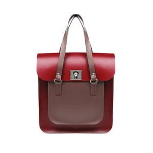Kožená kabelka Rosemont Red/Chestnut