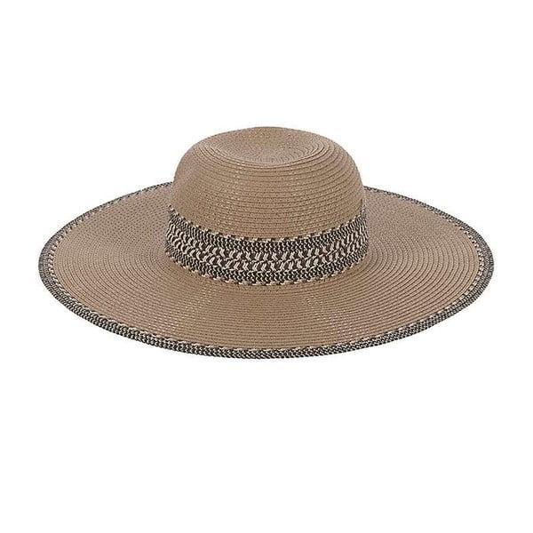 Slamený klobúk Beige