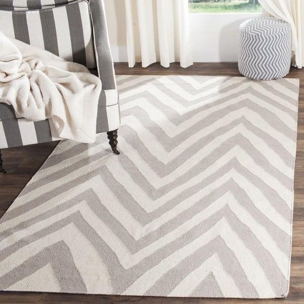 Vlnený koberec Safavieh Serena, 121x182 cm, béžový