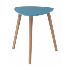 Modrý odkladací stolík Nomad