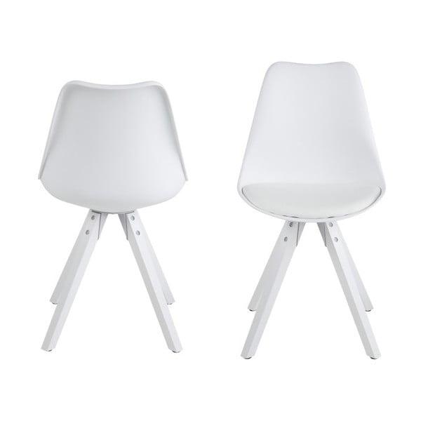 Jedálenská stolička Dima, biela
