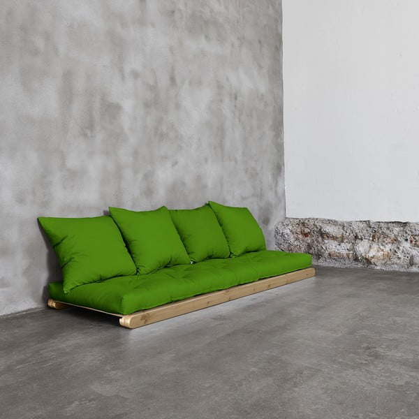 Leňoška Karup Figo, Raw/Lime, 70 cm