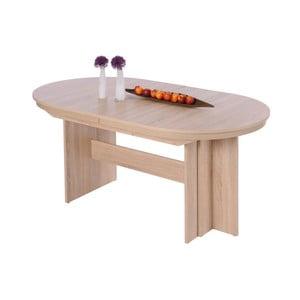 Rozkladací jedálenský stôl v dubovom dekore Intertrade Rome
