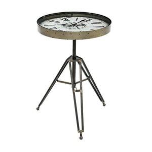 Odkladací stolík s hodinami Clock Table