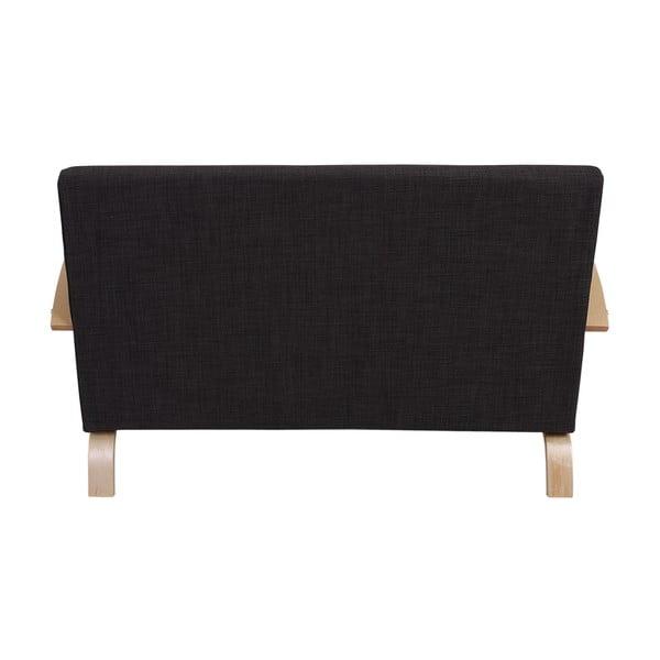 Dvojmiestna sedačka Spiez Dark Brown