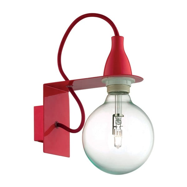Červené nástenné svietidlo Evergreen Lights City