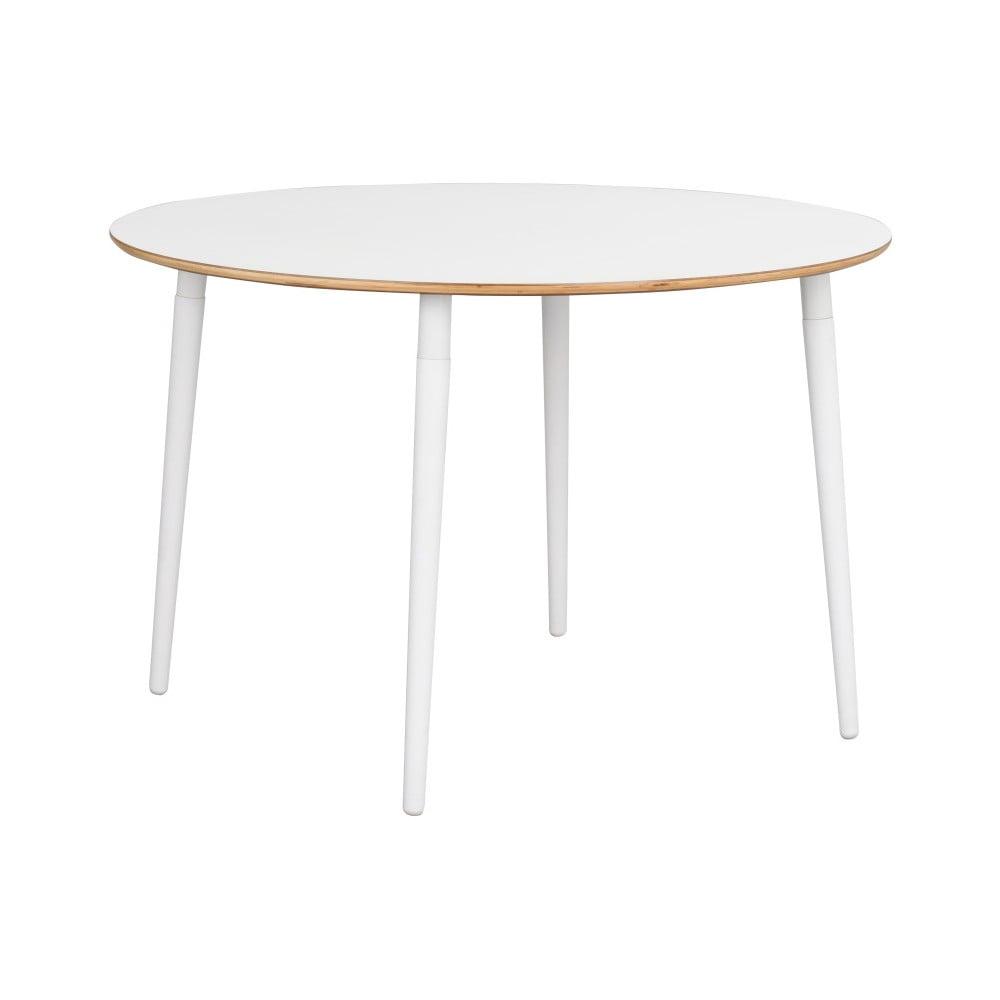 Biely jedálenský stôl Rowico Aate