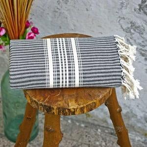 Hamam osuška Cloth Black, 90x180 cm
