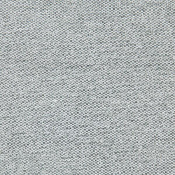 Svetlosivá posteľ VIVONITA Kent 180x200cm, čierne nohy