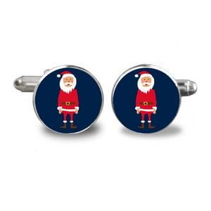 Sada 2 manžetových gombíkov Butoni de Camasa Double Santa