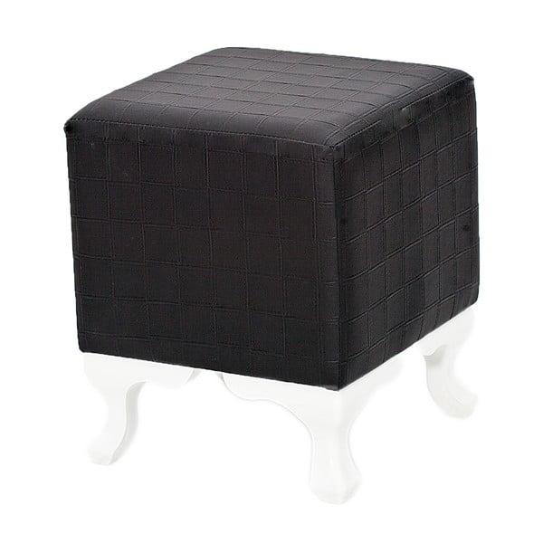 Taburetka Legs, čierna