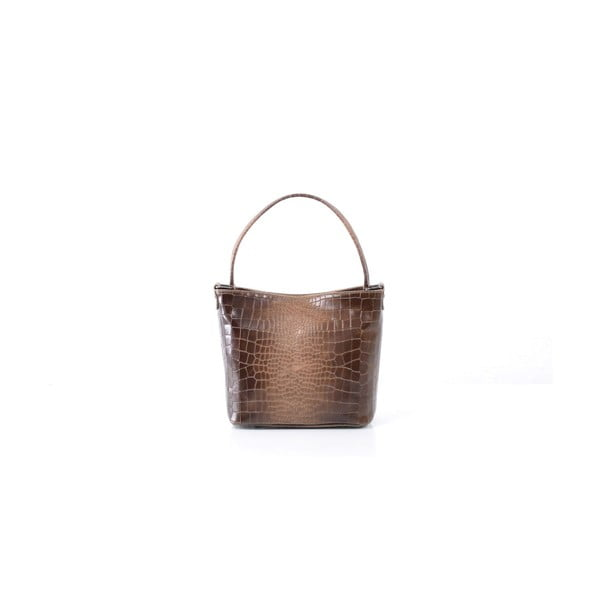Kožená kabelka Dorothée, hnedá