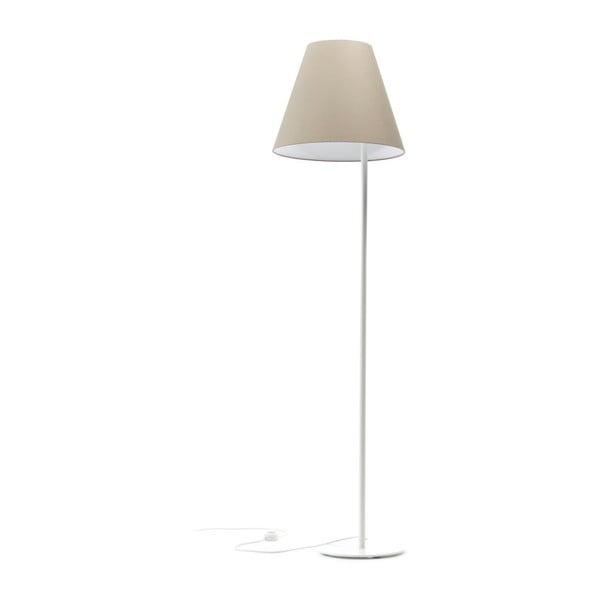 Krémová stojacia lampa Book, 158 cm
