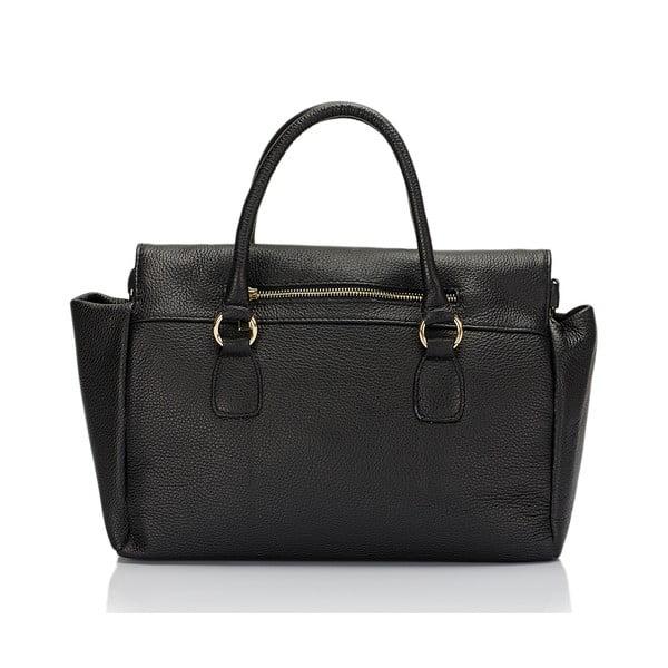 Kožená kabelka Giorgio Costa 3021 Black