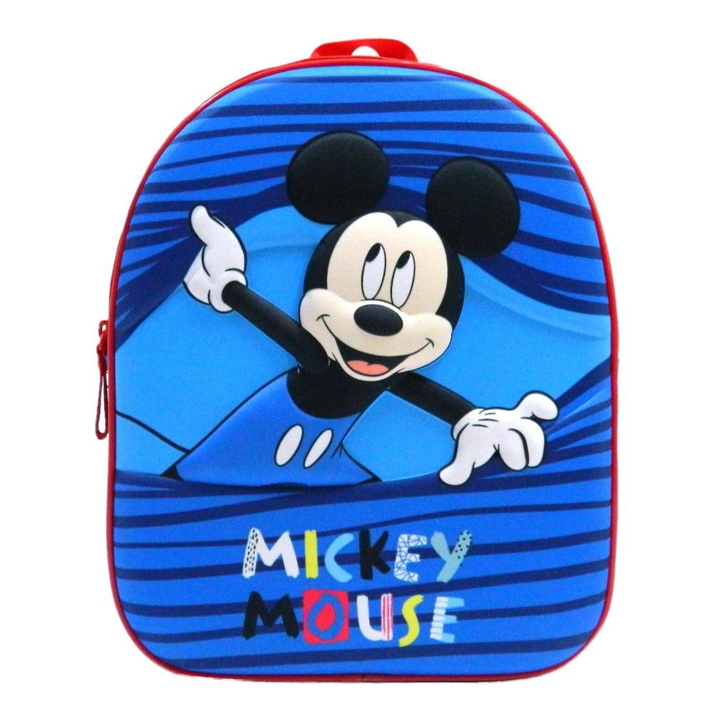 Modrý školský batoh Bagtrotter Mickey Mouse Story