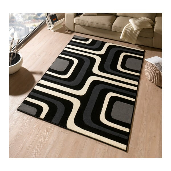Koberec Hanse Home Hamla William Black, 160 x 230 cm