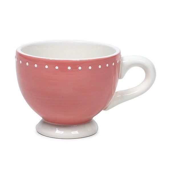 Keramický hrnček Marieke Pink Dots, 200 ml