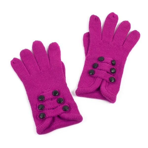 Ružové rukavice Iris