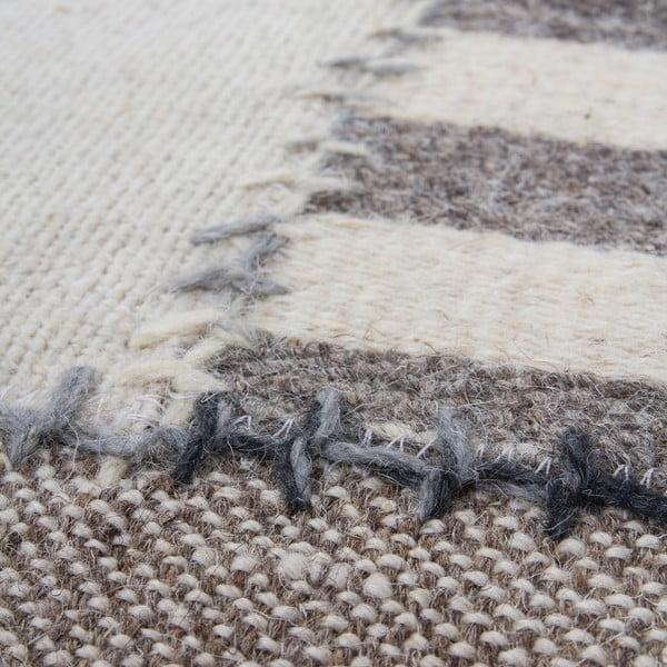 Vlnený koberec Omnia no. 4, 120x170 cm