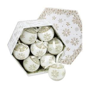 Sada 14 vianočných ozdôb v zlatej farbe Unimasa Memory