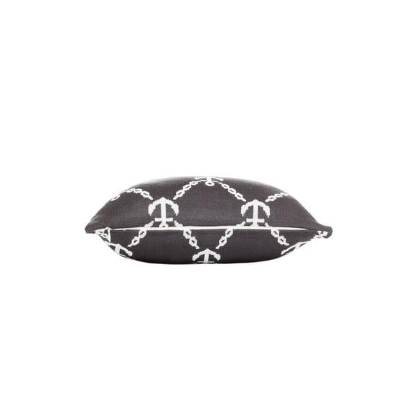 Vankúš s výplňou Grey and White 28, 43x43 cm
