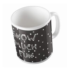 Keramický hrnček Snow Fun, 330 ml