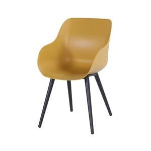 Sada 2 žltých záhradných stoličiek Hartman Sophie Organic Studio Chair