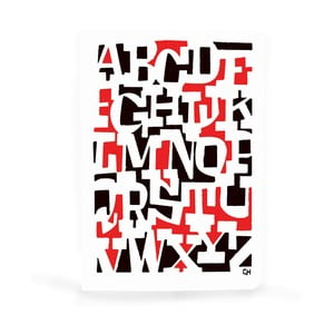 Poznámkový blok U Studio Design Letter Jumble
