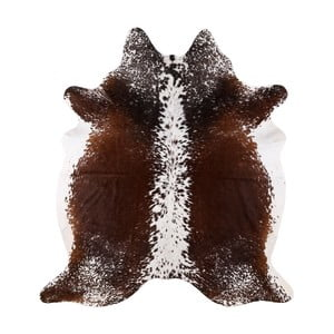 Pravá hovädzia koža Arctic Fur Salt and Pepper, 206 × 192 cm
