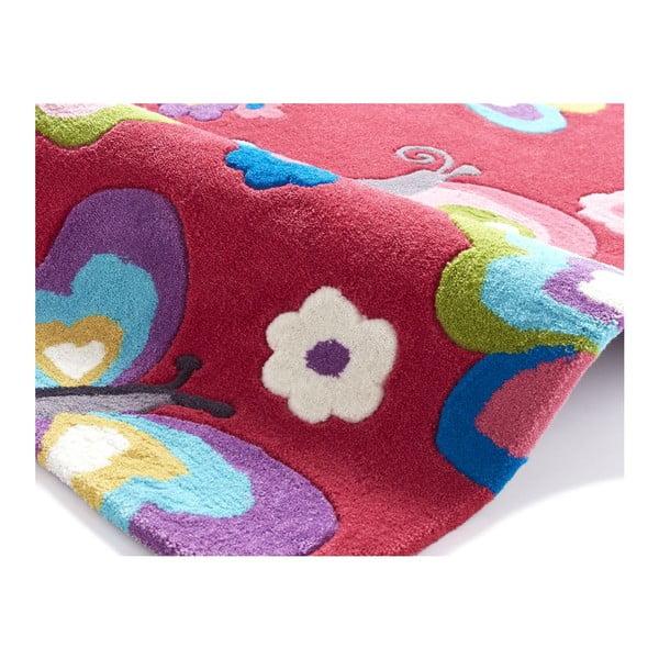 Ružový koberec Think Rugs Hong Kong Pink, 70x140cm