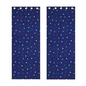 Záves Multi Stars, 168x183 cm