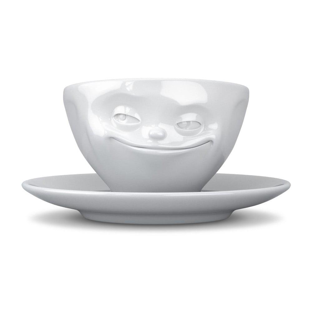 Biely usmievavý hrnček na kávu 58 products
