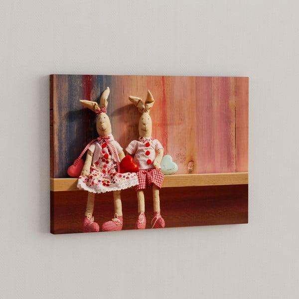 Obraz Plyšiaci spolu, 50x70 cm
