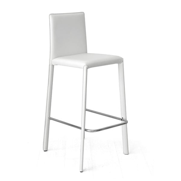 Barová stolička Fisso, biela