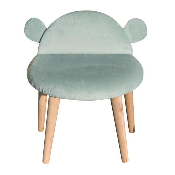 Detské kresielko Hippo, mätové