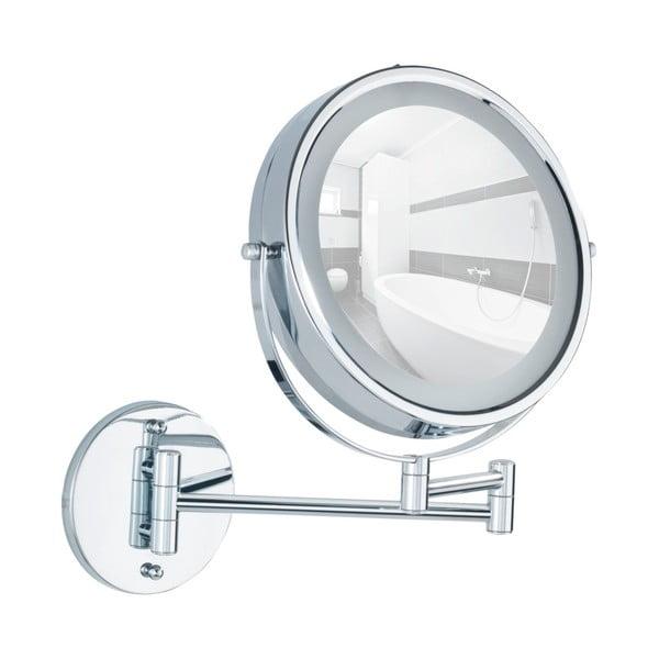 Nástenné zväčšovacie zrkadlo s LED osvetlením Wenko Lumi