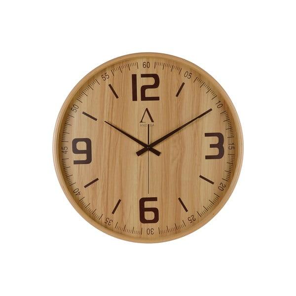 Drevené nástenné hodiny Honora, 53 cm